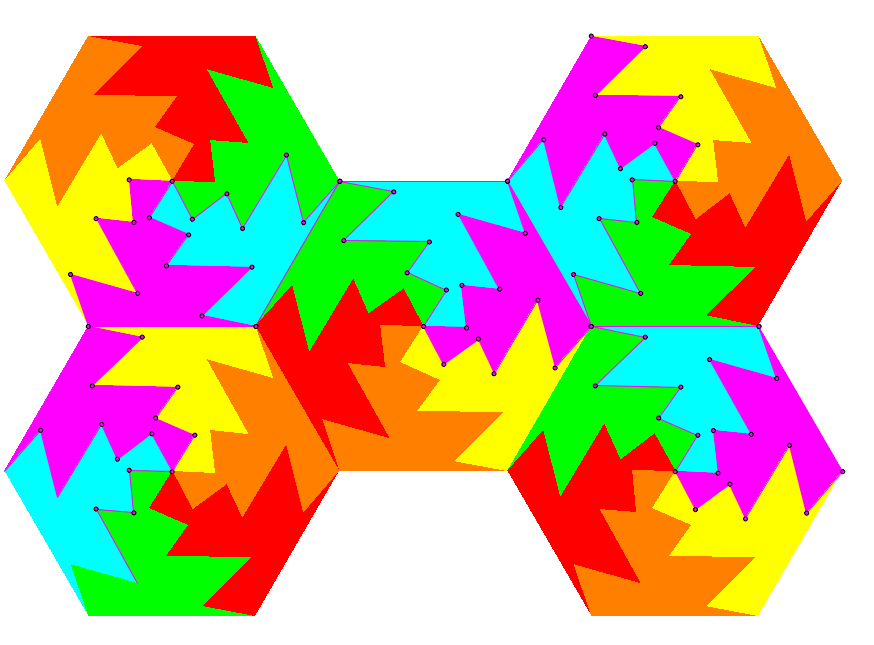 Tessellations With Geometer S Sketchpad In 6th Grade Math